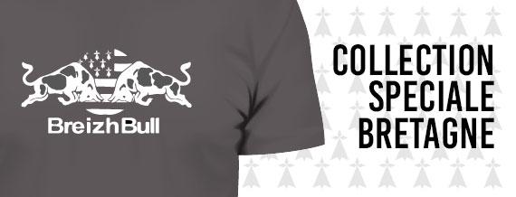 Collection de Tshirt spécial dédié à la Bretagne