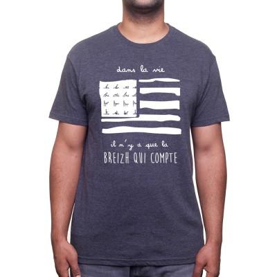 Dans la vie il n'y a que la breizh qui compte - Tshirt T-shirt Homme