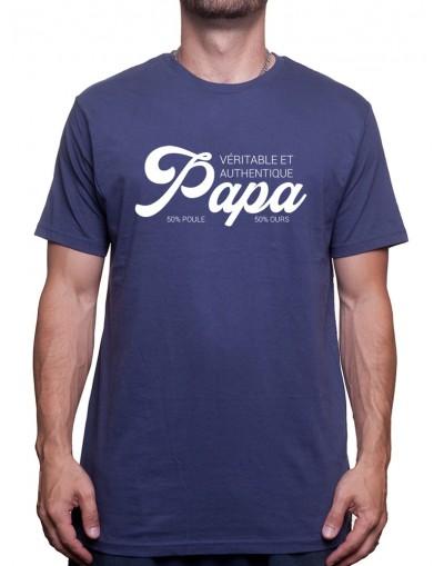 Papa Authentique - Tshirt Homme