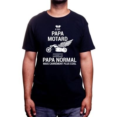 Papa Motard - Tshirt Homme