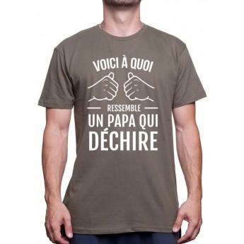 Un Papa qui dÈchire - Tshirt Homme