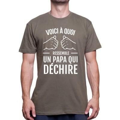 Un Papa qui déchire - Tshirt