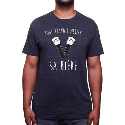 Tout travail merite sa biere - Tshirt T-shirt Homme