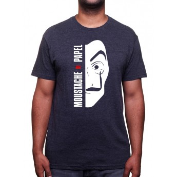 Moustache de Papel - Tshirt Homme