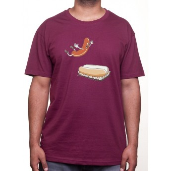 Hot Dogs Jump - Tshirt Homme