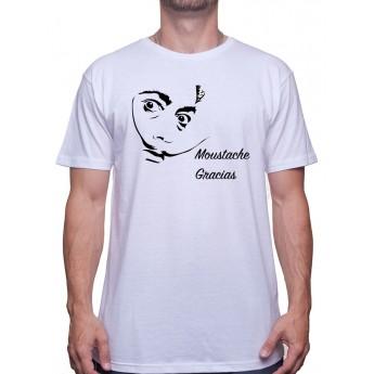 Moustache Gracias Dali - Tshirt Homme