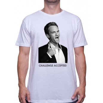 Barney challenge accepted -Tshirt