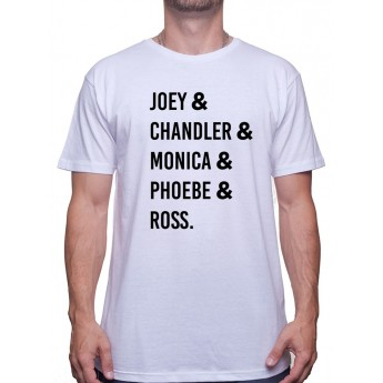Joey chandler monica -Tshirt