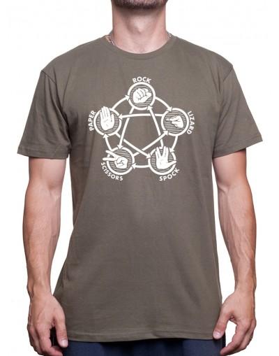 Rock paper lizard spok-Tshirt