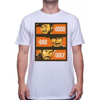 Good Bad Ugly Visual - Tshirt Homme