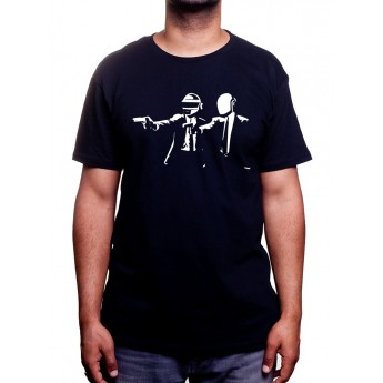 Pulp Fiction Daft Punk - Tshirt Homme