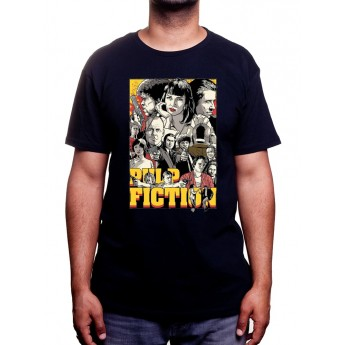 Pulp Fiction Draw - Tshirt Homme