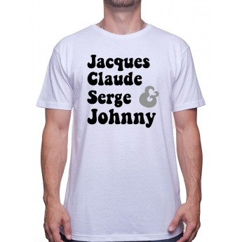 Jacques Claude Serge et Johnny - Tshirt Homme