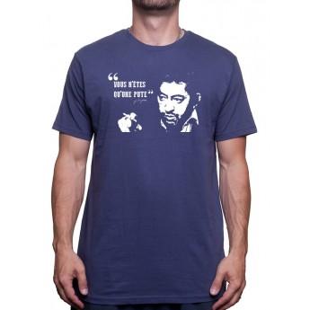 Serge Gainsbourg Vous n'etes qu'une pute - Tshirt Homme