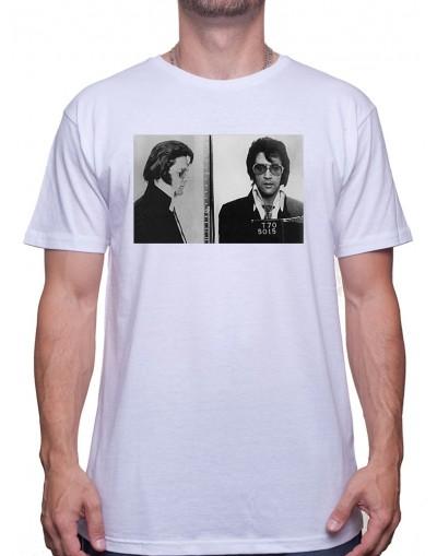 Elvis Mugshot - Tshirt Homme