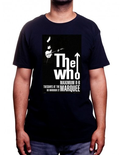 The Who Affiche - Tshirt Homme