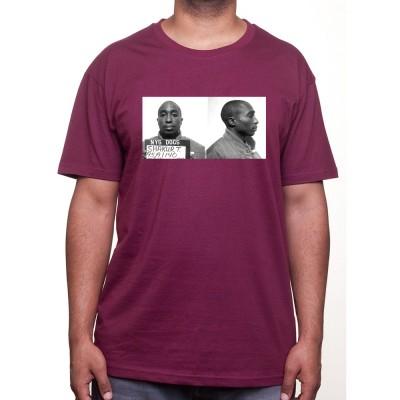2 Pac Mug Shot - Tshirt Homme