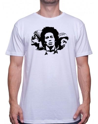 bob Marley Shadow - Tshirt Homme