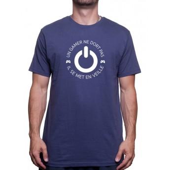 Un gamer ne dort pas - Tshirt Tshirt Homme Gamer
