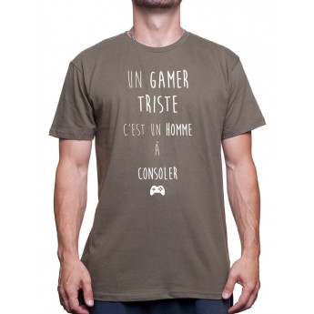 un gamer triste - Tshirt