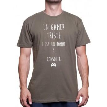 un gamer triste
