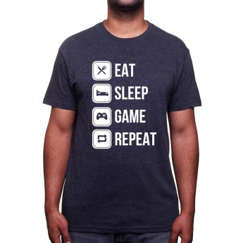 Eat, sleep, game and repeat