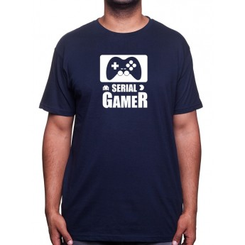 Serial Gamer - Tshirt Tshirt Homme Gamer