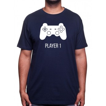 Player 1 - Tshirt Tshirt Homme Gamer