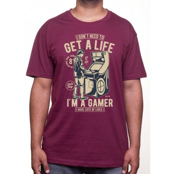 Get A Life - Tshirt Tshirt Homme Gamer