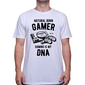 Natural Born Gamer - Tshirt Tshirt Homme Gamer