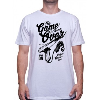 The Game Is Never Over - Tshirt Tshirt Homme Gamer