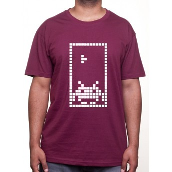Invaded Tetris - Tshirt Tshirt Homme Gamer