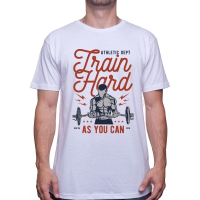 Train Hard - Tshirt Tshirt Homme Sport
