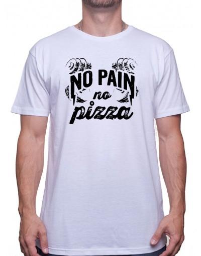 No pain No pizza - Tshirt Tshirt Homme Sport
