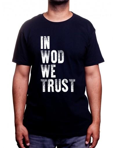 In Wod We Trust - Tshirt Tshirt Homme Sport
