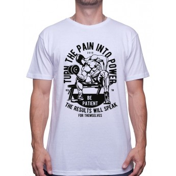 Turn The Pain Into Power - Tshirt Tshirt Homme Sport