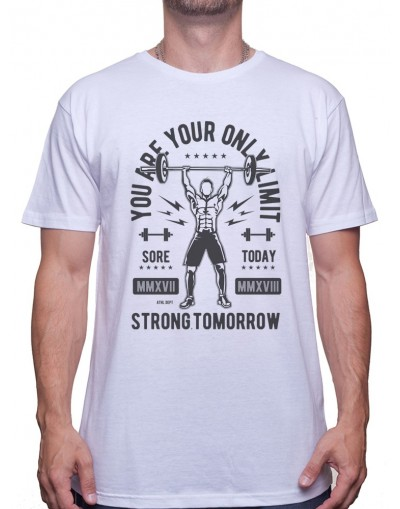 You Are Your Only Limit - Tshirt Tshirt Homme Sport