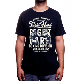 Fight Hard - Tshirt Tshirt Homme Sport