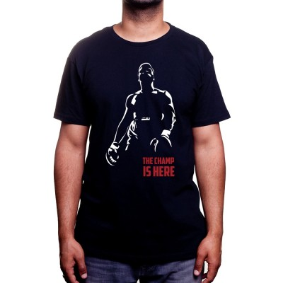 The champ is here - Tshirt Tshirt Homme Sport