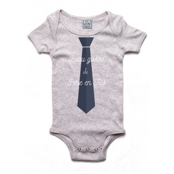 Beau gosse de père en fils - Body bébé