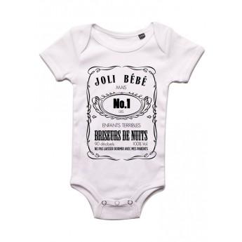 Joli Bebe Jack Daniels - Body bébé