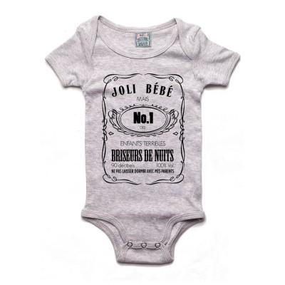 Joli Bebe Jack Daniels - Body bébé Bébé