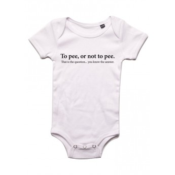 To pee or not to pee - Body bébé