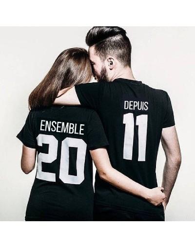 Tshirt Couple – Ensemble depuis – Shirtizz Tshirt Couple