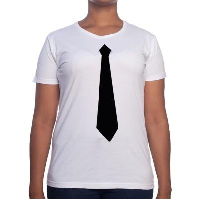 Cravate Noire - Tshirt