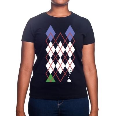 Jacquard Invader - Tshirt