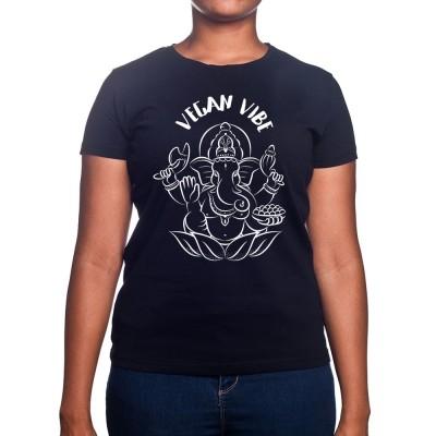 Ganesha vegan Vibe - Tshirt