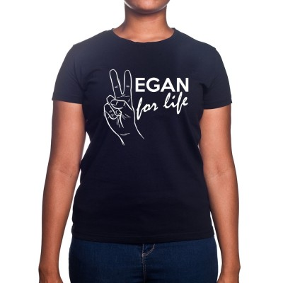 Vegan for life - Tshirt