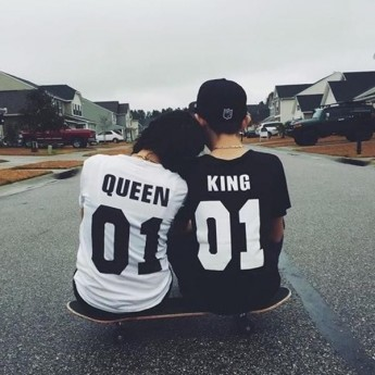 King & Queen – Tshirt Duo