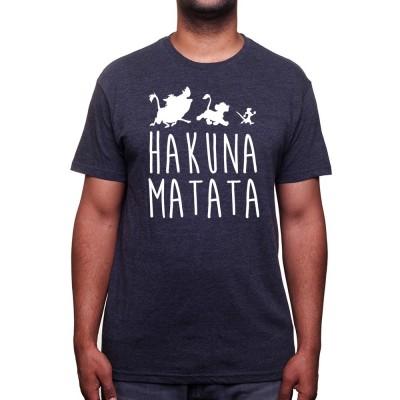 Tshirt Roi Lion Hakuna Matata - Shirtizz Homme